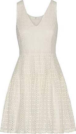Joie Joie Woman Pruitt Crocheted Cotton Mini Dress Ivory Size 4