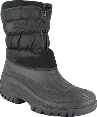 Groundwork GroundWork LS87 Womens Muckers Mukker Stable Winter WaterProof Lined Snow Boots UK 7 Black