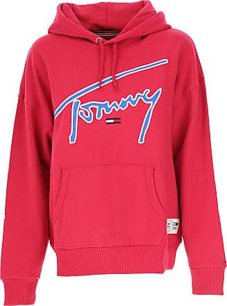 2638b5abb21a14 Tommy Hilfiger Sweatshirt für Damen, Kapuzenpulli, Hoodie, Sweats Günstig  im Sale, Fuchsienfarbig