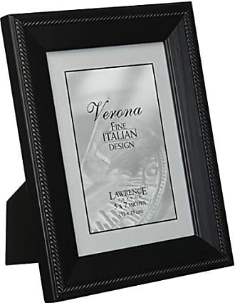 Lawrence Frames Tu by Edo, Black Wood 5 by 7 Picture Frame