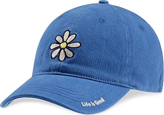 Life is good Daisy Sueded Stretch Chill Cap LXL Vintage Blue
