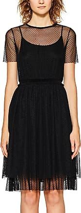 EDC by Esprit Womens 117cc1e017 Dress, Black (Black 001), X-Small