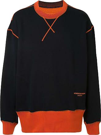Wooyoungmi Suéter color block de algodão - Azul