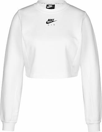 Nike Sweatshirt weiß / schwarz