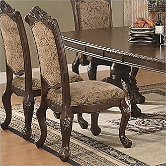 Coaster Fine Furniture CO-103112 Side Chair Set of 2 Netural Tones