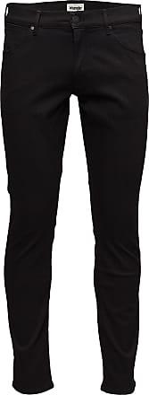 Wrangler Larston Slimmade Jeans Svart Wrangler