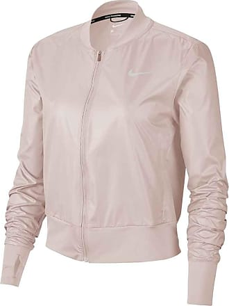 Nike Full-Zip Running Jacket Bekleidung Damen rosa