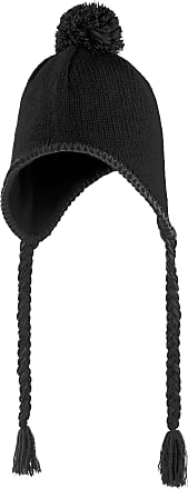 Result Inca Peruvian Winter Hat (Microfleece Lined) (One Size) (Charcoal Grey)