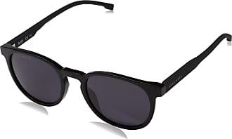 HUGO BOSS Mens BOSS 0922/S IR 807 51 Sunglasses, Black/Grey Grey