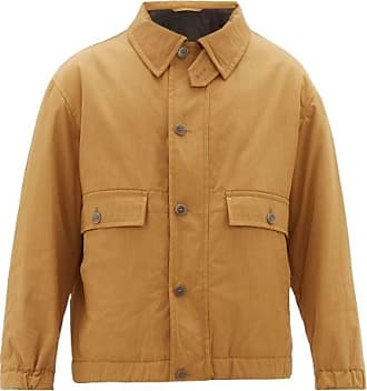 Raey Chest-pocket Cotton-blend Jacket - Mens - Brown