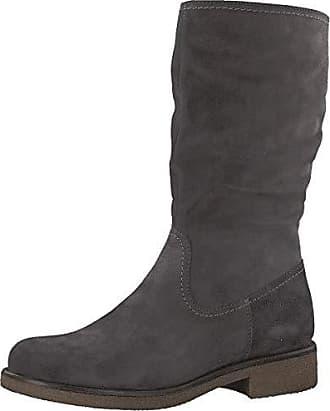 Tamaris Stiefelette Stiefel Boots gefüttert anthrazit dunkelgrau