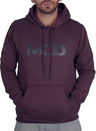 MCD Moletom Canguru Mcd Spade - Vinho - P