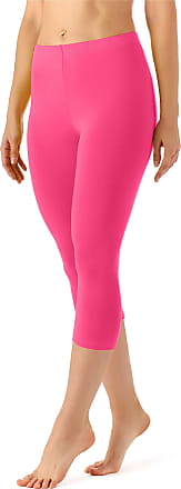 Merry Style Womens Leggings 3/4 MS10-144(Pink, XXL)