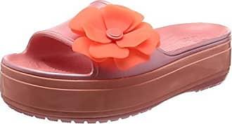 21a3283236c464 Crocs Crocband Platform Vivid Blooms Slide Sandal
