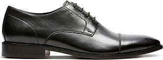 Bostonian Mens Black Leather Bostonian Nantasket Cap Size 11.5