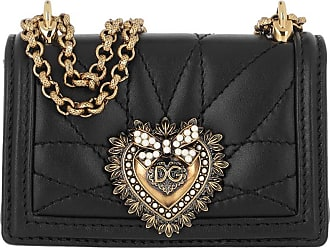 Dolce & Gabbana Cross Body Bags - Micro Devotion Crossbody Black - black - Cross Body Bags for ladies