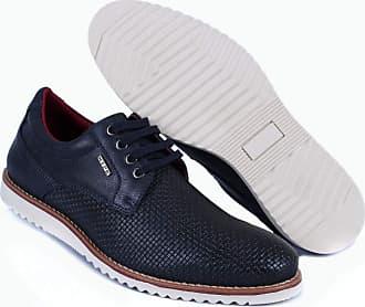 Hype Sapato Casual Masculino Oxford Hype Em Sintético 1003 (41, Azul Marinho)
