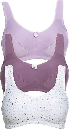 Bonprix Bonprix - Lot de 3 soutiens-gorge sans armatures en coton bio blanc  pour 6ca8f20e8c4