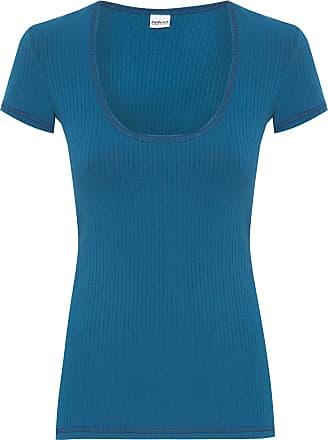 Colcci Fitness Blusa Canelada - Azul