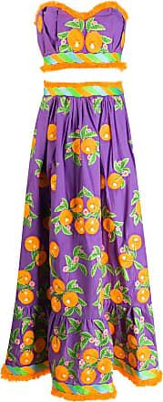 Yuliya Magdych Mandarin skirt set - Purple