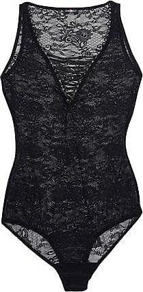 Cosabella Cosabella Woman Lace-up Lace Bodysuit Black Size S