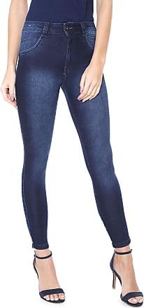 eb53042f9 Biotipo Calça Jeans Biotipo Skinny Estonada Azul-marinho