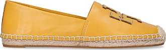 Tory Burch Espadrilles INES nappa leather Logo Patch yellow