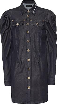 Versace Stretch-denim dress