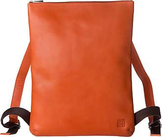 Dettagli su DuDu Borsa a tracolla Arancio da Uomo Donna in morbida Pelle con cerniera lampo