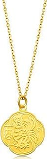 Chow Sang Sang New Year & Chinese Zodiac 999.9 Gold Rooster Pendant