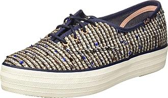2eb52b58df7 Keds WF55766 Womens Fashion Sneakers Blue Multi 10 US   8 UK US