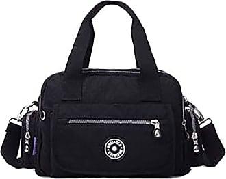 GFM Womens Nylon Cross Body Shoulder Bag (88)(S2-5680-1-KL)