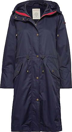 Esprit Coats Woven Tunn Rock Blå Esprit Casual