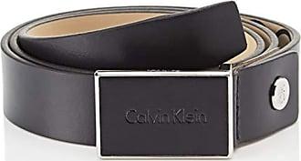 7620a904dc7361 Calvin Klein 3cm Adj Calvin Plaque, Cintura Uomo, Blu (Dark Navy 448)