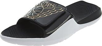 Nike Jordan Hydro 7, Mens Fitness Fitness Shoes, Multicoloured (Black / Metallic Gold 021), 8 UK (42.5 EU)