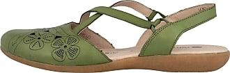 Remonte Womens Ballet Flats Green Forest Green Size: 4 UK