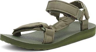 91c8ed9f5 Teva Mens Cypress Green Original Universal Ripstop Sandals-UK 10