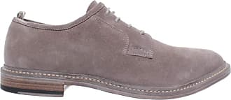Officine Creative Mens Classic Shoes Durham/005 Softy Ardesia Suede Gray New