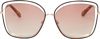 Chloé Óculos de Sol Poppy Dourado - Mulher - Único FR