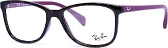 Ray-Ban RX7121L 5824 Tartaruga Rosa Lente Tam 53