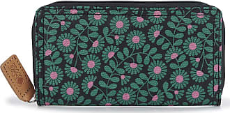 Orla Kiely Forget Me Not - Big Wallet - Emerald