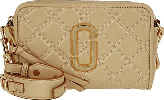 Marc Jacobs Cross Body Bags - The Soft Shot 21 Leather Beige - beige - Cross Body Bags for ladies