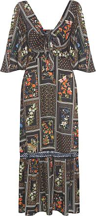 Dress To Vestido Midi Estampa Tarot - Preto