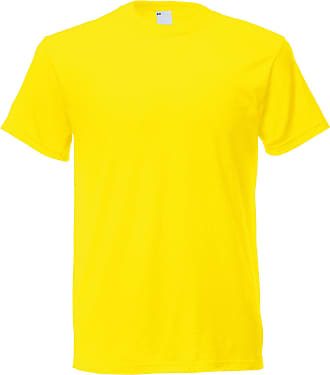 Universal Textiles Mens Short Sleeve Casual T-Shirt (XX Large) (Bright Yellow)
