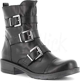 Generico Generic Made in Italy Leather Boot with Zip - Black Black Size: 7 UK