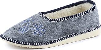 Ladeheid Women´s Felt Slippers Shoes Flipflops PFF074 (Melange, 39 EU = 6 UK)