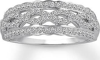 Kay Jewelers Diamond Anniversary Band 1/3 ct tw Round-cut 10K White Gold