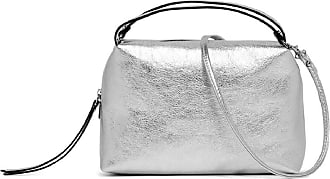 Gianni Chiarini alifa medium silver mini bag