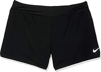 new arrivals 71e69 e2664 Nike Eclipse Pantalones Cortos, Negro y Plateado, 1 Unidad para Mujer