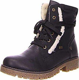 Rieker 78528-24 Damen TEX-Boots Textilinnensohle Warmfutter aus Schurwolle,  Groesse 37, bdefdc0549